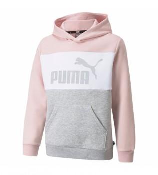 Buy Puma Sweatshirt ESS+ Colorblock pink, white, grey