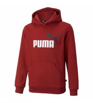 Comprare Puma Felpa ESS + 2 Col Big Logo rosso