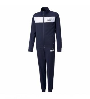 Buy Puma Tracksuit Poly Suit cl navy
