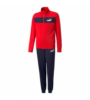 Buy Puma Tracksuit Poly Suit cl B red, black