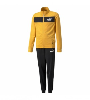 Buy Puma Tracksuit Poly Suit cl yellow, black