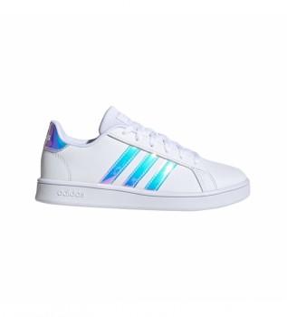 Acheter adidas Baskets GRAND COUR K blanc, bleu