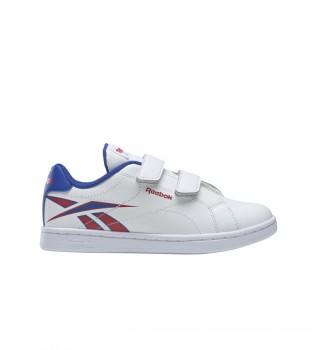 Buy Reebok RBK ROYAL COMPLETE CLN ALT 2.0 Shoes white, blue, red