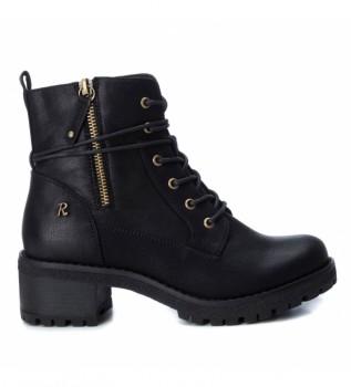 Comprar Refresh Botas de tornozelo 072670 preto - Altura do calcanhar 5cm