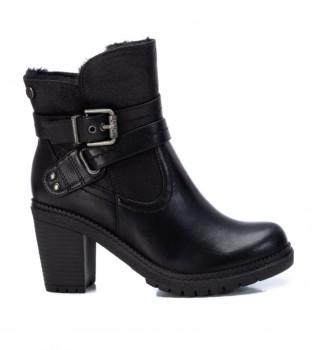 Comprar Refresh Botas de tornozelo 078969 preto -Altura do calcanhar 8 cm