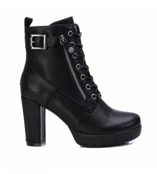 Comprar Refresh Botas de tornozelo 078971 preto - altura do calcanhar 9cm