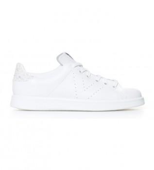 Comprar Victoria Esportes de couro branco