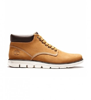 Comprare Timberland Sneakers Bradstreet Chukka in pelle color cammello