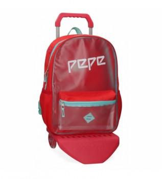 Acheter Pepe Jeans Sac à dos Pepe Jeans Cristal avec chariot -31x42x17,5cm