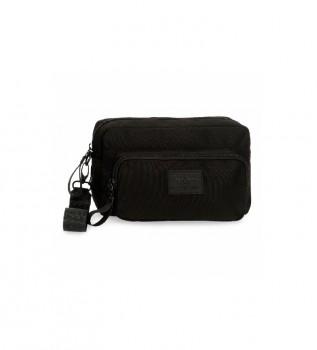 Buy Pepe Jeans Pepe Jeans Denton Black Handbag -24,5x15x6cm