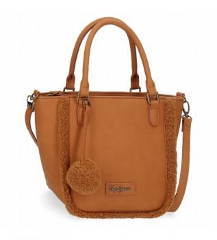 Buy Pepe Jeans Pepe Jeans Pearl brown bag -19x21x14cm