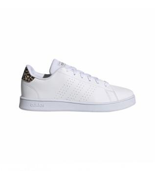 Buy adidas Advantatge K Sneakers white, leopard print