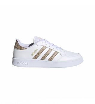 Buy adidas Breaknet white sneakers