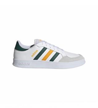 Comprar adidas Sapatos Breaknet brancos, verdes