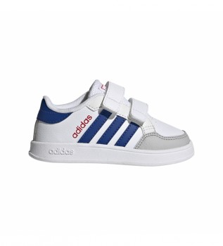 Buy adidas Breaknet shoes white, blue