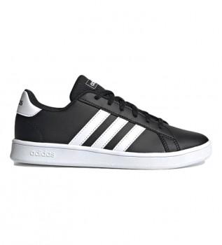 Buy adidas Shoes Grand Court K black