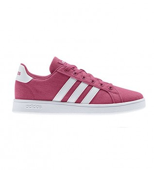 Comprare adidas Scarpe Grand Court K rosso