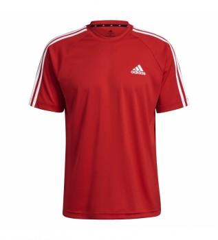 Acheter adidas T-shirt Sereno 3 Stripes rouge