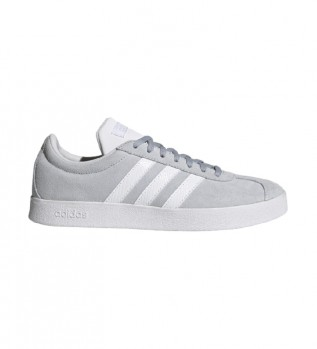Acheter adidas VL Court - Baskets en cuir gris
