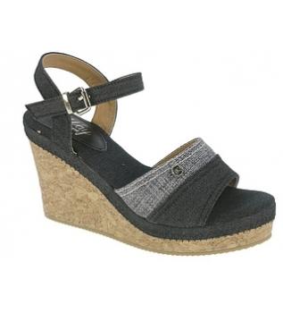 Beppi - Occasionnel Sandale Compensée Noir JlXhvPI1o