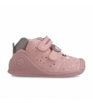 Comprare Biomecanics Stivali in pelle 211115 rosa