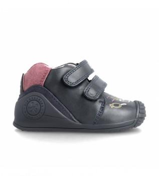 Comprare Biomecanics Sneakers in pelle 21112 blu navy