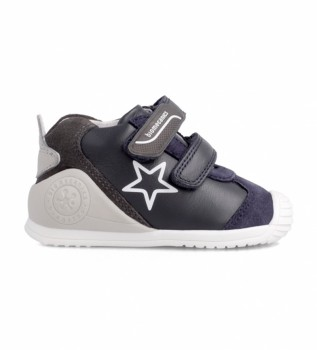 Comprare Biomecanics Sneakers in pelle 211145 blu navy