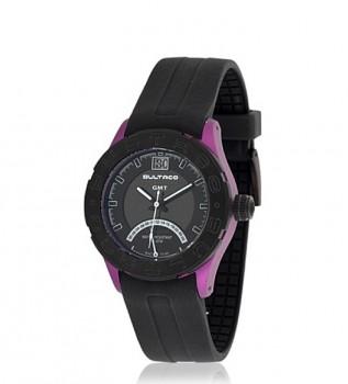 e337f91648bd Bultaco Reloj analógico con GMT (doble horario) Scandium Limited Edition)  negro