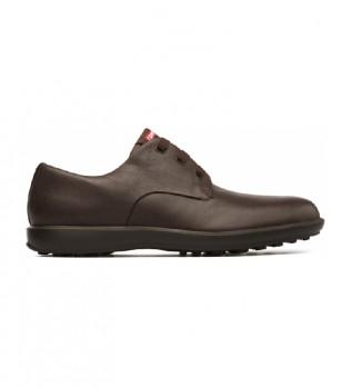 Comprare CAMPER Atomo Lavoro scarpe di pelle marrone