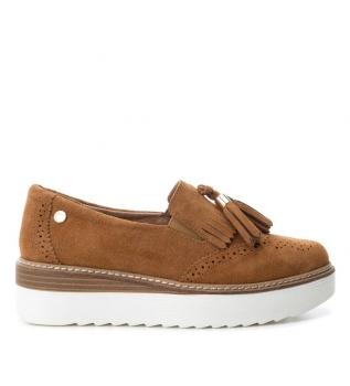 Carmela - Zapatillas de piel 066026jea jeans llZK3