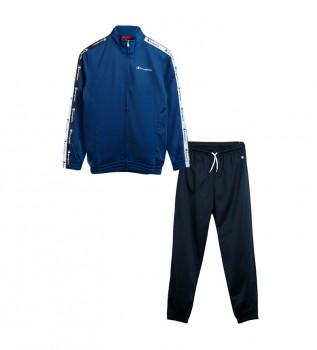 Acheter Champion Veste et pantalon de survêtement 305639 bleu