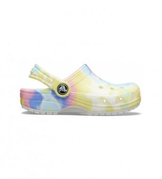 Comprare Crocs Zoccoli multicolori classici Tie Dye Graphic Clog K