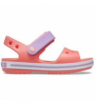 Comprare Crocs Sandali Crocband Kids corallo