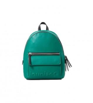 Buy Desigual Backpack Mombasa green -22.7x11x2cm
