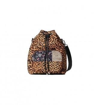 Buy Desigual Beta Animal Natal Maxi animal print bag -15,8x31,5cm