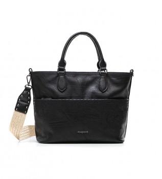 Buy Desigual Lyrics Hollywood handbag black -28.9x13x24.5cm