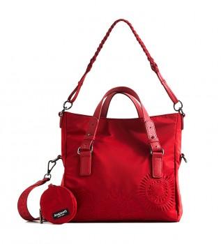 Buy Desigual Mandarala Loverty red bag -29.4x15.8x21cm