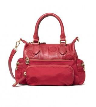 Buy Desigual Alkalina London Mini burgundy handbag -24x19,5x10,5 cm