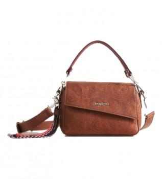 Comprare Desigual Mini borsa a tracolla Deja Vu Phunket cammello -22.50x10.50x15cm-