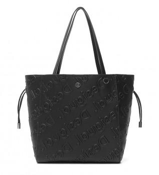 Buy Desigual Colorama Norwich black bag -25,50x9x16 cm