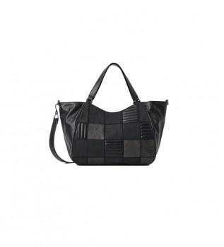Buy Desigual Fire Saga Ruanda bag black -27,2x41,1cm