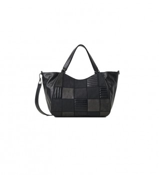 Comprar Desigual Bolso Fire Saga Ruanda negro -27,2x41,1cm-