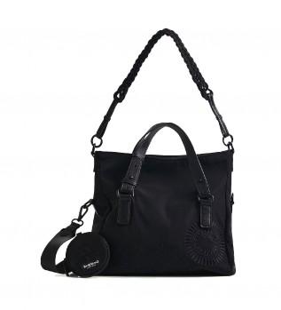Comprar Desigual Mandarla Loverty 2.0 saco preto -29.4x15.8x21cm