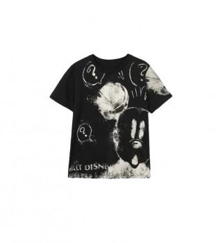 Buy Desigual Mickey Mouse T-shirt black