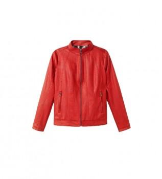 Buy Desigual Comaruga jacket red