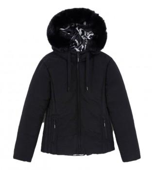 Comprar Desigual Casaco de Neve preto almofadado