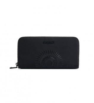 Comprar Desigual Mandarala Fiona bolsa preta -20x2x10cm