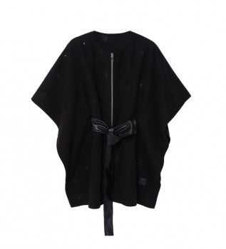 Buy Desigual Poncho July Tribu Milan black