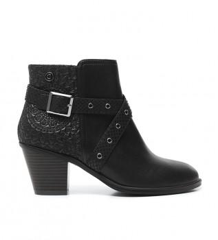 Comprar Desigual Botas de tornozelo Alasca Mandala preto -Altura do calcanhar: 7cm