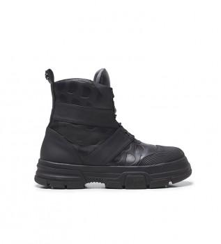 Buy Desigual Hybrid Monogram boots black